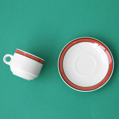 미쿡의아침밥 클래식 커피잔(레디아2)