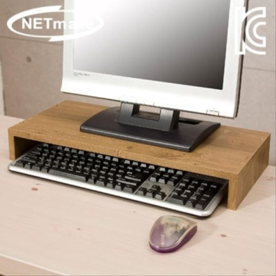 NETmate 1단 모니터 받침대 (엔틱)