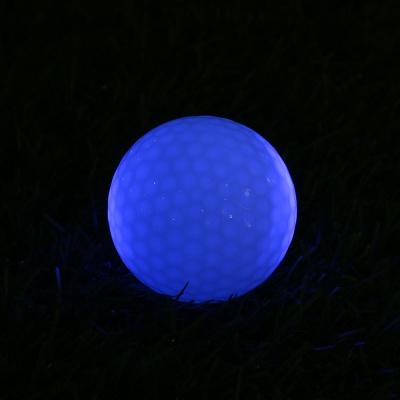 샤이닝 LED 발광 골프공 야간라운딩 야광골프공
