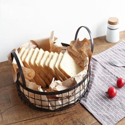 철제 라운드 과일바구니 빵바구니 바스켓