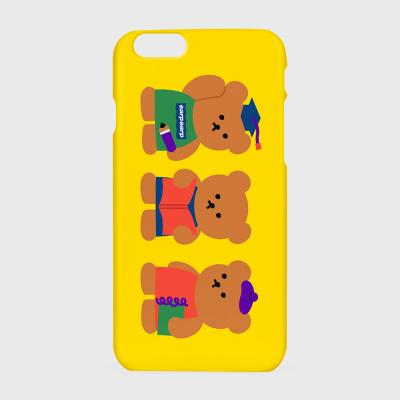Smart bear friends-yellow