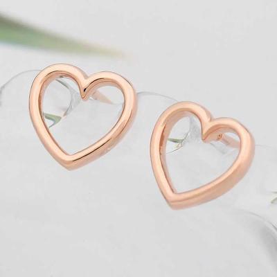 Cute Heart 14K 골드필드 핀 일자침 CH1718168
