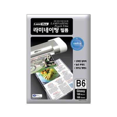 라미에이스 고급형 코팅필름 100MIC B6(100매)