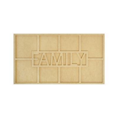 MDF 액자 - large family frame