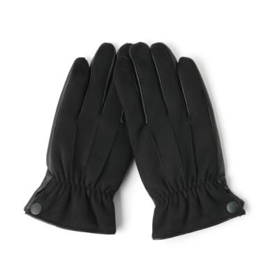[베네]손목 주름 스웨이드 스마트폰 남성장갑