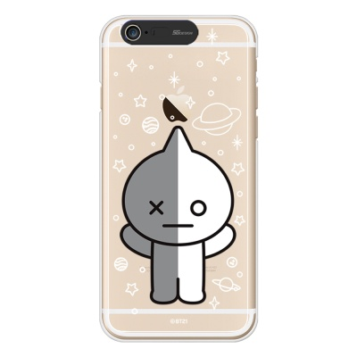 BT21 iPhone6/ iPhone6 Plus 반 라이팅 케이스(Soft)