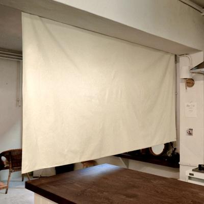 블랭크 광목 가로형 패브릭파티션 / 패브릭 가벽