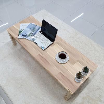 베란다테이블 화장대 테이블 원목좌탁  1400x450