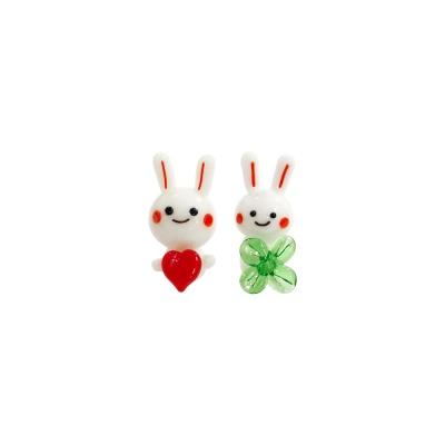 하트 클로버 토끼 2p set