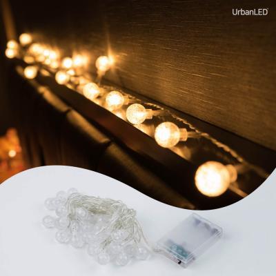 어반 LED 버블전구 30구 기본점멸형