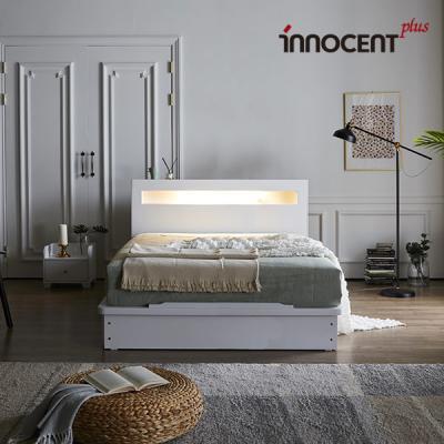 [이노센트] 리브 메시아 LED 평상형 침대 Q/K
