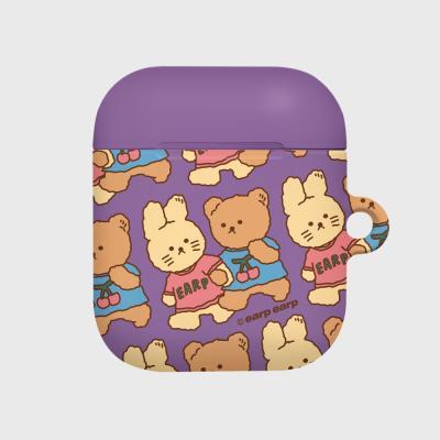 nini friends-purple(Hard air pods)