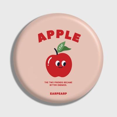[어프어프] 손거울 Leaf apple-Indy pink
