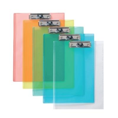 [문화산업] 뉴투명클립보드F915-7 청색 [개1] 109387