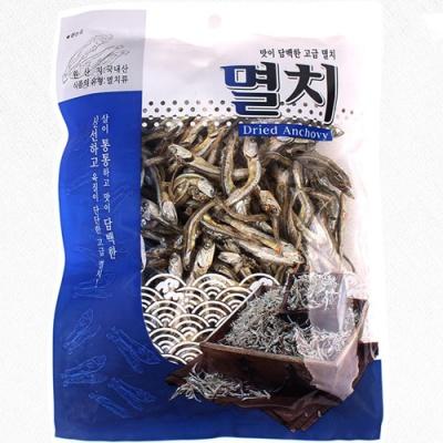 신선하고 담백한 조림용 고급멸치 150gx2봉