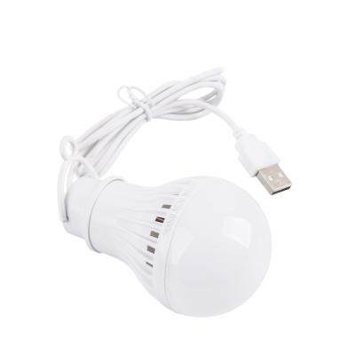 캠핑용 LED램프 5W / USB타입 LED전구 LCNB647