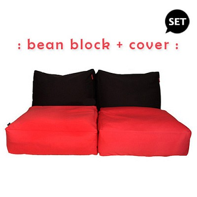[SET] bean block + cover
