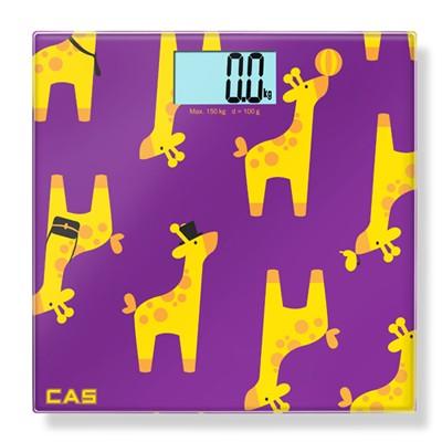 카스(CAS) 화이트백라이트 디지털 체중계 HE-28