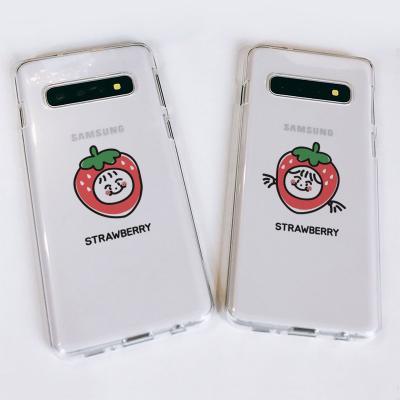 갤럭시S10/S10+/S10E Strawberry 소프트젤리케이스