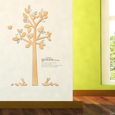 우드스티커- 스프링데이 (반제품) 나무 W523 포인트