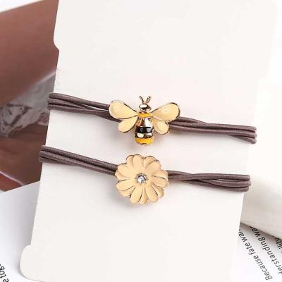Mujer Daily HONEY BEE FLOWER 머리끈 2color