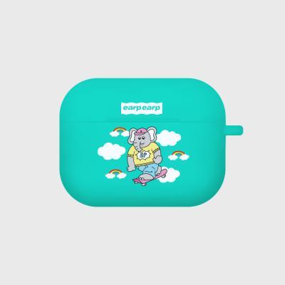 kkikki sky surfing-mint(Air pods pro case)