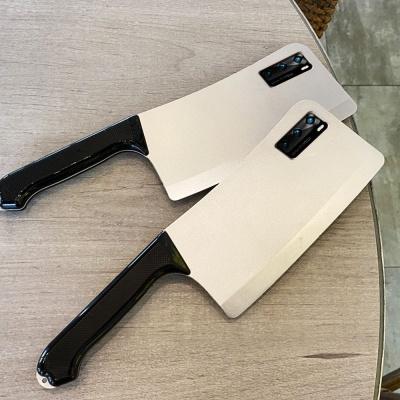 갤럭시노트20/울트라 특이한 식칼 입체 핸드폰 케이스