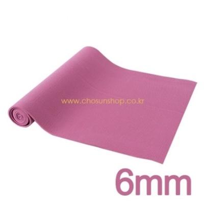 아이워너 PVC 요가매트(중국) 6mm(보라) 2P