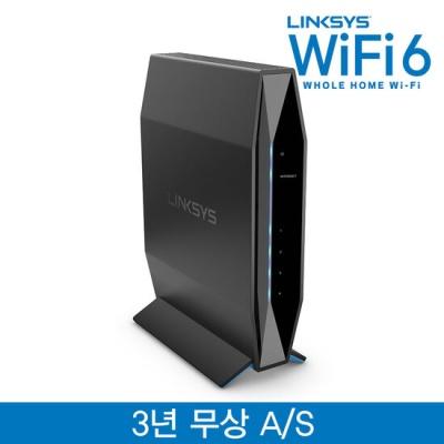 링크시스 듀얼밴드 와이파이6 인터넷 공유기 E7350