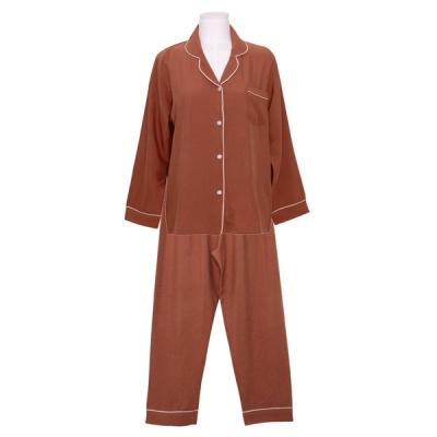 [쿠비카]크림 파이핑 베이직 투피스 여성잠옷 W796
