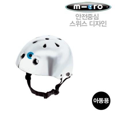 마이크로 킥보드 헬멧 실버 L