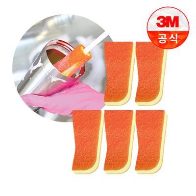[3M]보틀 수세미용 리필(1입)_스테인레스용 5개