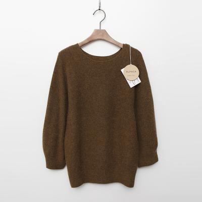 Maille Alpaca Wool Puff Sweater - 9부소매