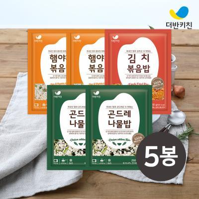[더반키친] 곤드레2+햄야채2+김치1