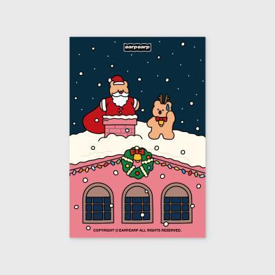 Roof on santa(엽서)