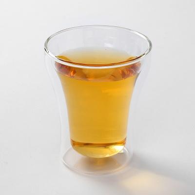 [로하티]빈스 이중 유리컵 / 홈카페 칵테일 주스잔