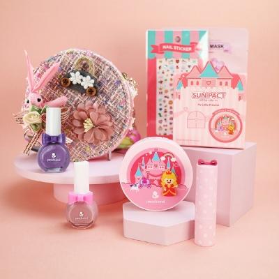 [피치앤드] 어린이 화장품 선물세트+크로백 세트