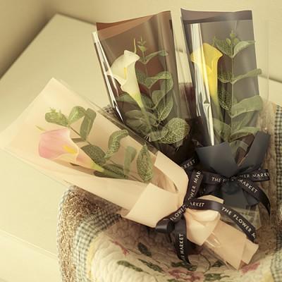 순수카라 꽃다발