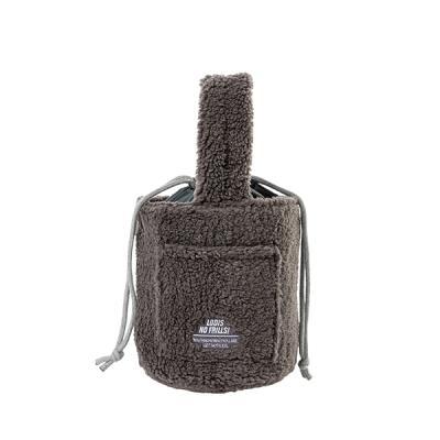 [로디스]비비 양털버킷백 양털가방 그레이 여성가방