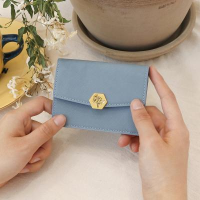 D.LAB (탄생화지갑) Kara card wallet - 4color