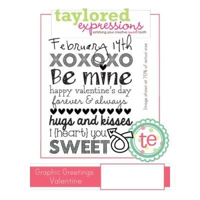 스탬프 Graphic Greetings Valentine