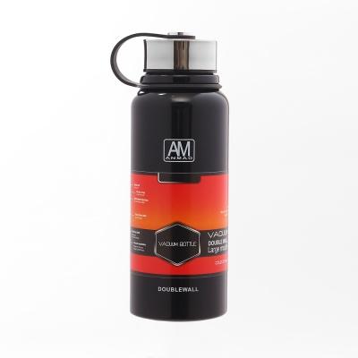 AM 스텐 보온병(800ml) (블랙)
