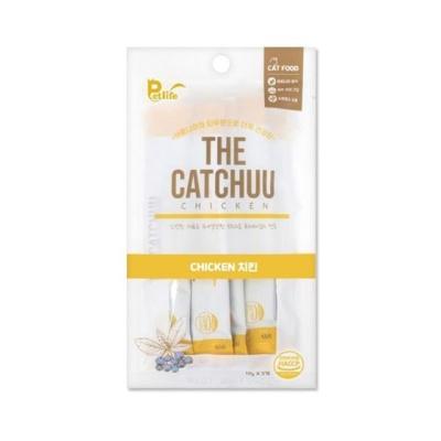 펫라이프 더캣츄 치킨 50g (10gx5개입) 고양이간식