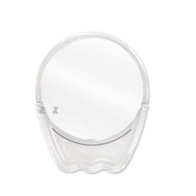 샤인빈 투명 원 탁상거울(대) 메이크업 화장거울