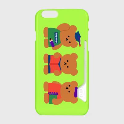 Smart bear friends-green(카드수납케이스)