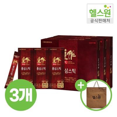 [헬스원] 황작 홍삼스틱 30포 30일분 x3개