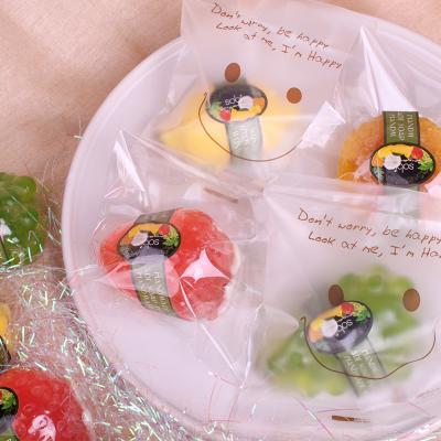 소비아 수제 과일비누 1개입 답례품 기념일 스마일형