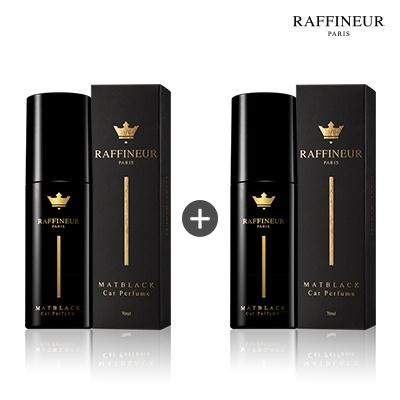 라피네르 매트블랙 카 퍼퓸 70ml+70ml + 쇼핑백(블랙)