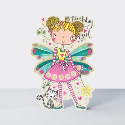 리틀달링 - 꼬마 요정 생일 카드 [DAR4]