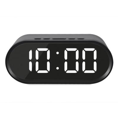 [엑토] 젠 LED 미러 시계 SLH-12 (블랙) [개/1] 400856